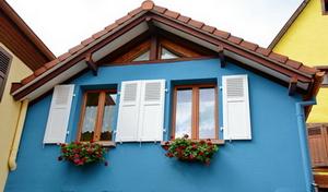 A La Maison Bleue, Gîte à Bergheim Alsace.